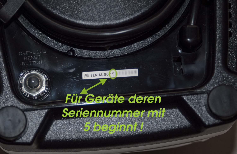 Antriebskopf Antriebsmuffe Ersatzteil f JTC OmniBlend V 1,5L und 2L TM800 TM767
