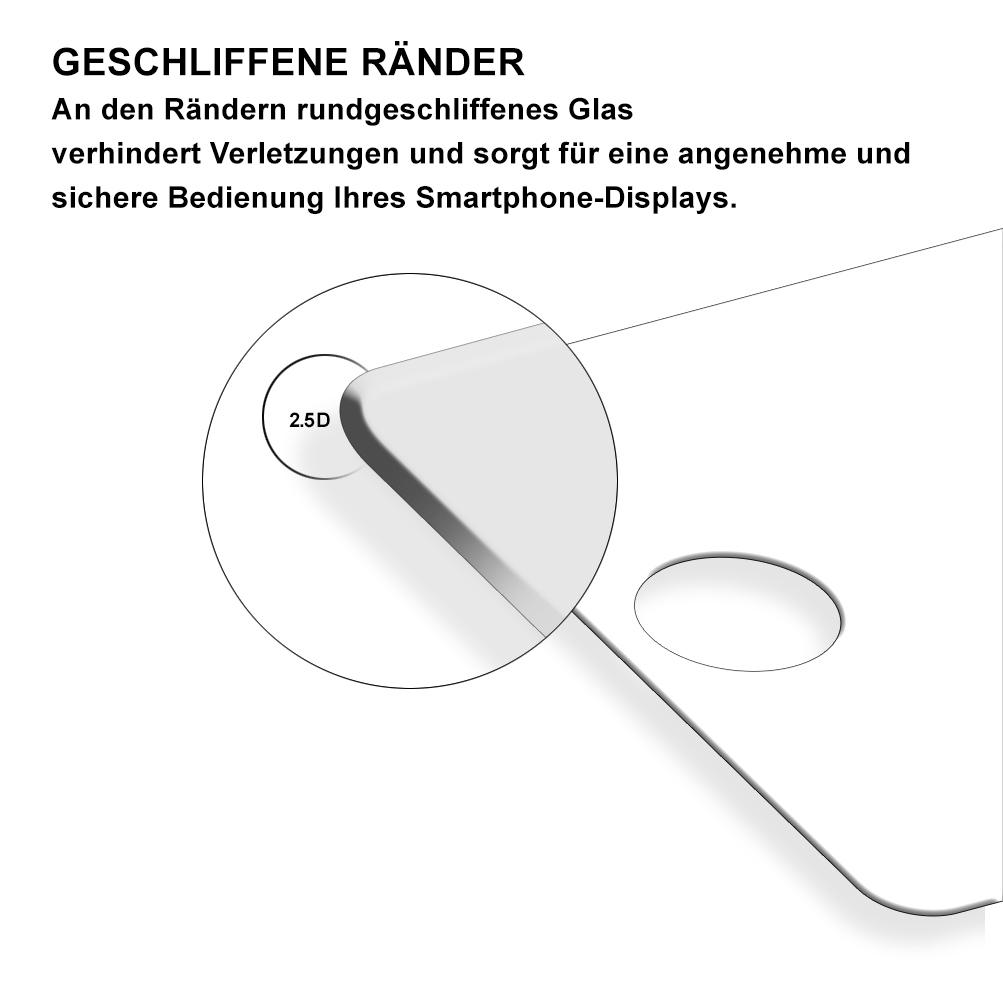 panzer schutz folie f u00fcr huawei y5 2018 displayglas schutz 9h
