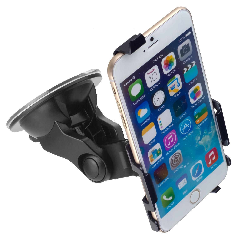 kfz halterung 360 schwenkbar f r apple iphone 6 plus. Black Bedroom Furniture Sets. Home Design Ideas